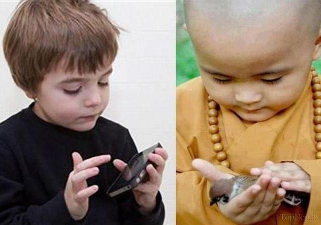دانلود بررسی تفاوتهای نسل جدید و قدیم
